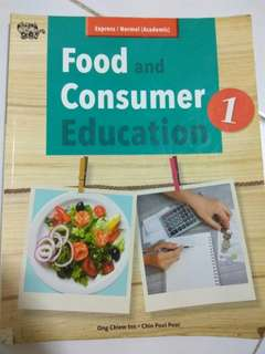 FnN food and consumer Education book 1