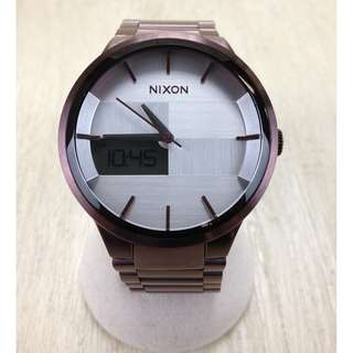 NIXON ◆ Nixon / Spencer / Quartz Wrist Watch / Diana / Stainless (SHIP FROM JAPAN)