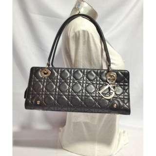 Authentic CHRISTIAN DIOR Lady Dior Shoulder Bag