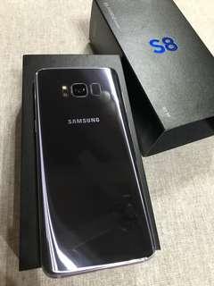 🚚 Samsung S8 64gb 紫灰色