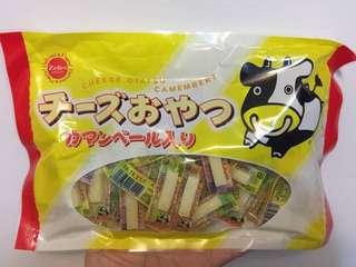 🚚 日本 OHGIYA 扇屋 原味一口鱈魚起司條 家庭號