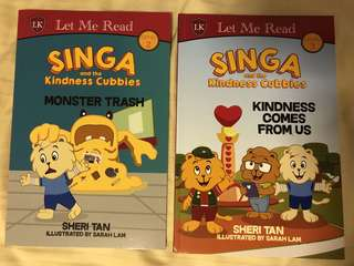 Singa and the kindness cubbies
