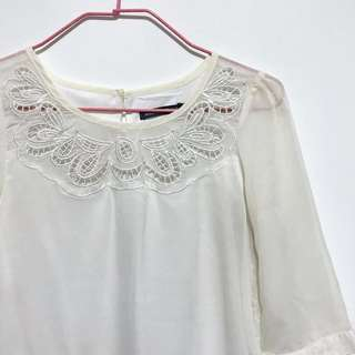 Amber Avenue embroidered blouse