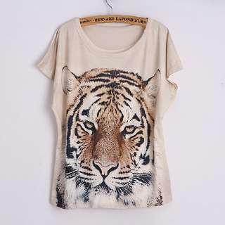 👕 Tiger Printed Tee 👕