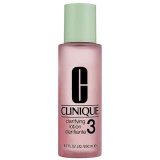 Clinique Clarifying Lotion (3) 200ml