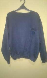 Sweater blue navy universal