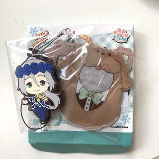 WTT Yuri!!! on Ice Tsutsumarekko rubber strap