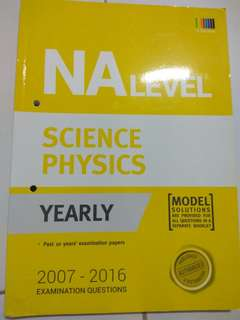 Science Physics NA Level TYS