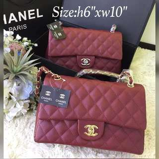 Chanel Classic Flap Maroon
