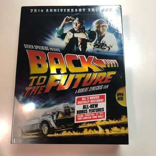 Back to the future 25th Anniversary Trailogy