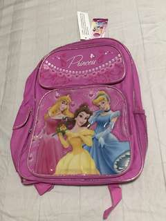 BNWT Disney Princess School Bag