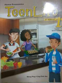 Home economics Teenlife 2nd Edition book1