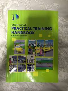 Brand new BBDC Motor Car Practical Training Book