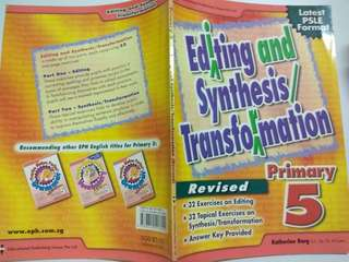 Editing and synthesis Transformation Primary 5