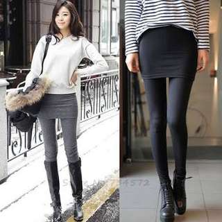 Skirt Leggings Korean