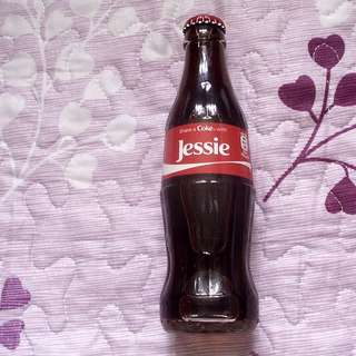 可口可樂 Share a Coke with Jessie 人名玻璃樽一枝