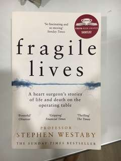 (medical novel) Fragile Lives