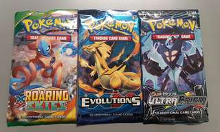 Pokemon Cards Grab Bags