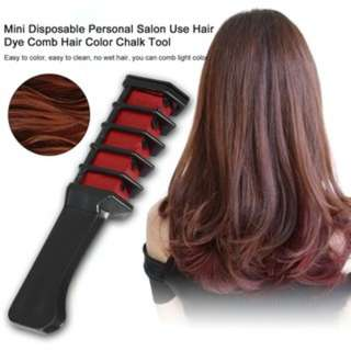 [PO456]Mini Disposable Personal Salon Use Hair Dye Comb