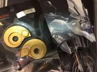 Yamaha LC135 Adjustment Chain(Gold/ORANGE)