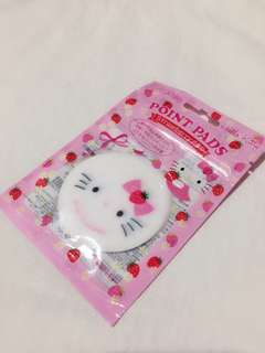 Hello kitty face point pads