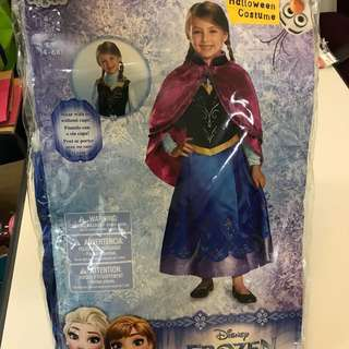 Disney Frozen Anna dress with cape