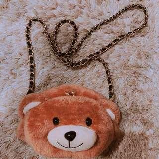🚚 熊熊鏈條包 (韓國購入)