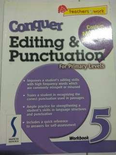Editing & punctuation for Primary Levels