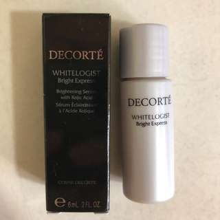 BN Cosme Decorte Whitelogist Bright Express 6ml