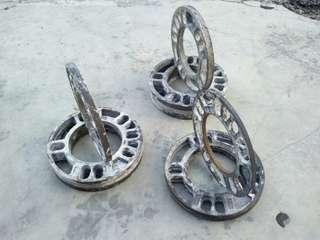 Wheel spacer 4H 5H