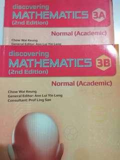 Mathematics Textbook for Secondary 3