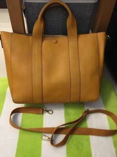 <REDUCED>Authentic Cow Hide Leather GAP Bag