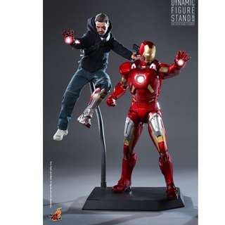 100% Brand New Hot Toys ACS001 Dynamic Figure Stand for 1/6th Scale figures display