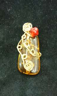 Pendant Amber Jewelery Mother's Day Present