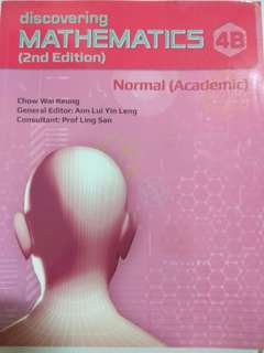 Mathematics 4B textbook
