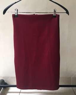 rok span merah maroon