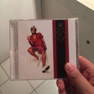 cd bruno mars 24k magic