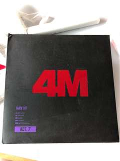 4minute Album with 泫雅小卡