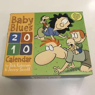 Baby Blues 2010 Daily Calendar Comic Book Riddles Puzzle