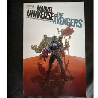 Marvel Comic Marvel Universe vs. the Avengers 2013 TPB by Jonathan Maberry & Leandro Fernandez