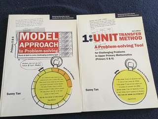 Math Heuristic Handbooks and Guidebooks on Fractions, Model Method