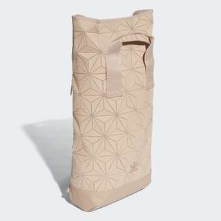 ADIDAS ORIGINALS  3D ROLL TOP BACKPACK LIMITED EDITION - COLOUR: NUDE/ DUSTY PINK/ ROSE issey miyake - OVERSEAS EDITION