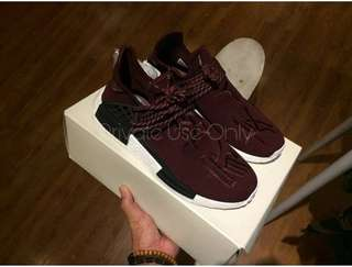 Adidas NMD Human Race Pharrell Burgundy