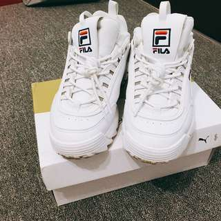 🚚 FILA增高鞋