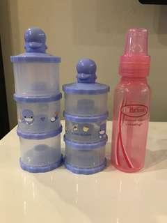 Ku-ku Duckbill milk powder container