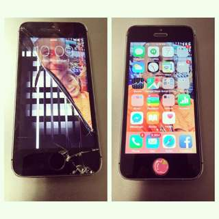 Crack iPhone lcd ? Pm us today!