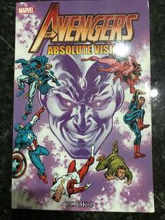 Comic Marvel The Avengers : Absolute Vision