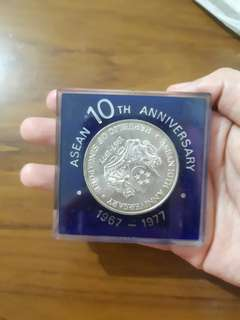 ASEAN 10TH Anniversary Coin