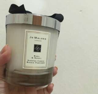 Jo malone basil and neroli candle