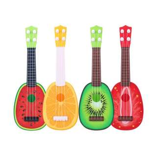 🔥Ready Stock🔥Lovely Fruit Children Musical Guitar Instrument Toy Kid
